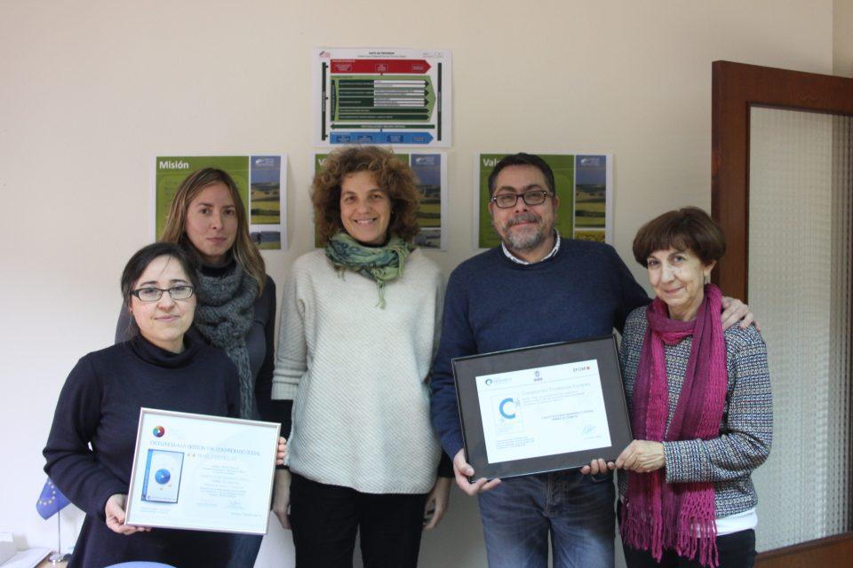 El Colectivo Tierra de Campos renueva el Certificado de Calidad 200+ EFQM