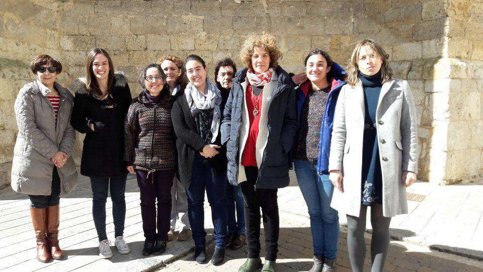 Las trabajadoras de la Asociación Colectivo para el Desarrollo Rural de Tierra de Campos se unen a la HUELGA FEMINISTA del 8 de marzo.