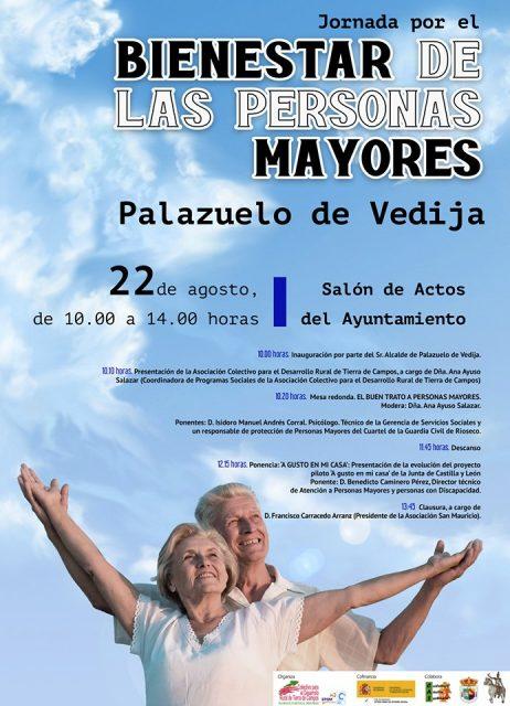 JORNADA POR EL BIENESTAR DE LAS PERSONAS MAYORES EN PALAZUELO DE VEDIJA
