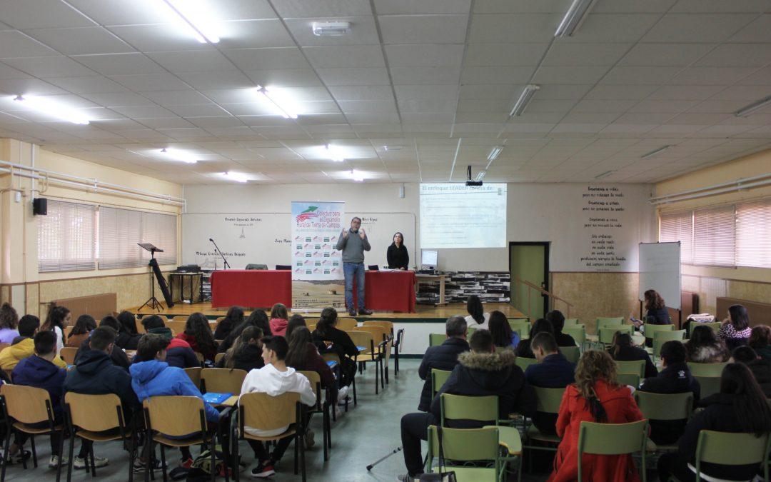 El Colectivo Tierra Campos participa en 'La Ruta del Emprendimiento'