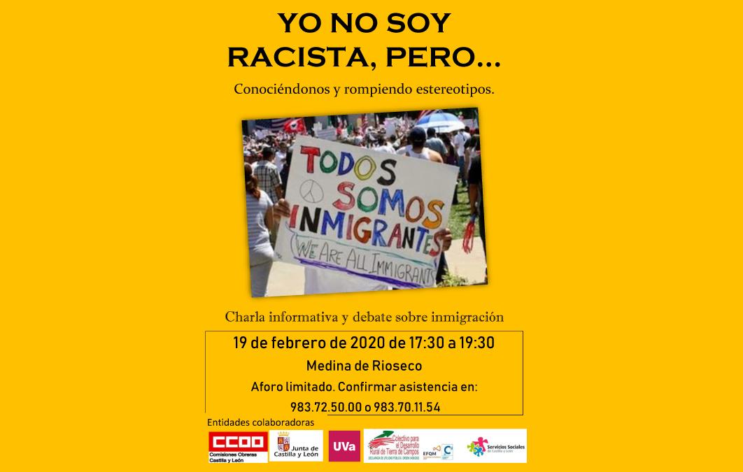 Jornada informativa y de convivencia 'Yo no soy racista, pero…'