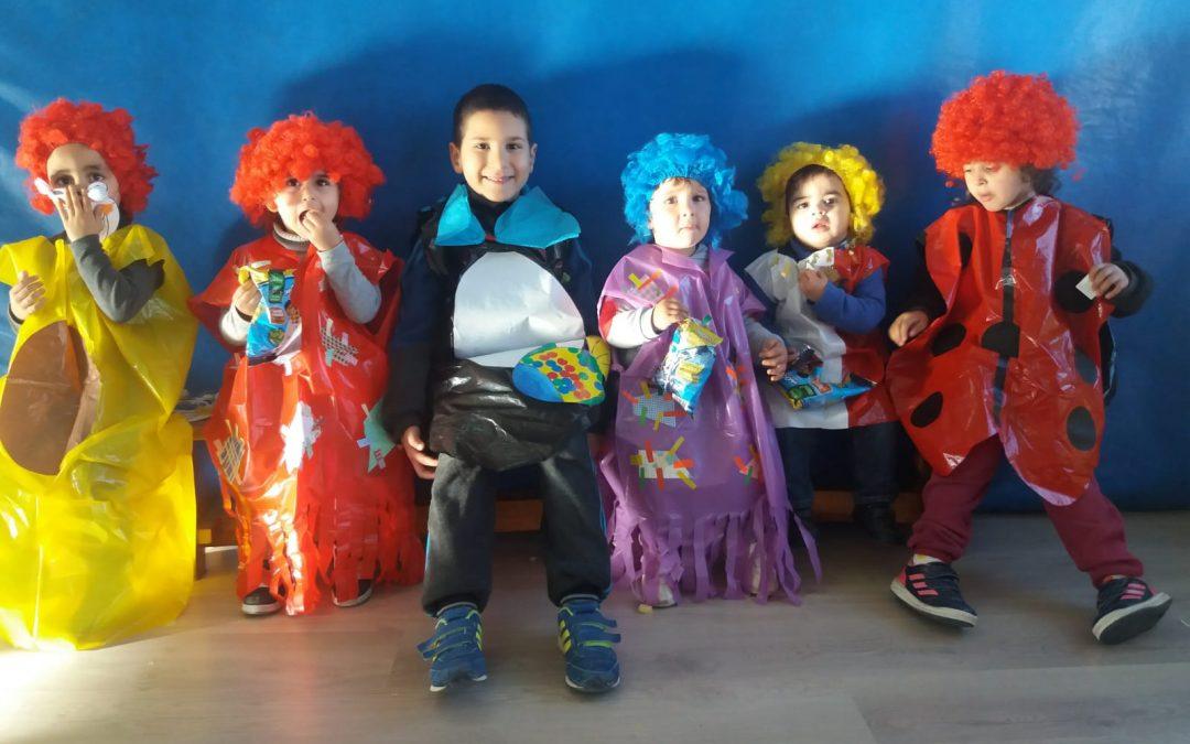 Imaginación y color en los carnavales más 'Chiquitines'