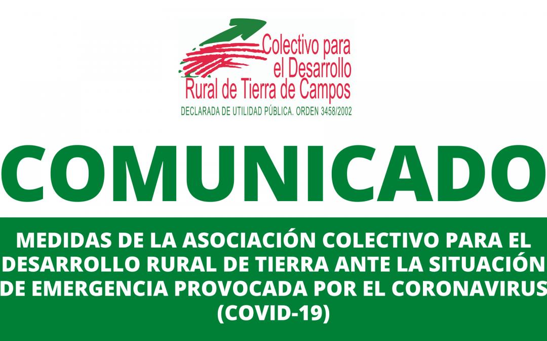 Comunicado de la Asociación Colectivo para el Desarrollo Rural de Tierra de Campos