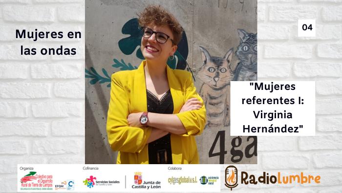 Mujeres referentes I: Virginia Hernández, alcaldesa de San Pelayo (Valladolid).