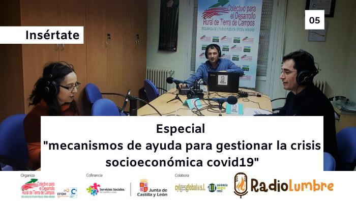 """""""Mecanismos de ayuda para gestionar la crisis económica del COVID19"""""""