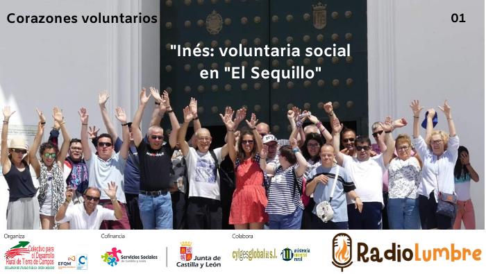 """""""Inés, voluntaria social en """"El  Sequillo"""""""