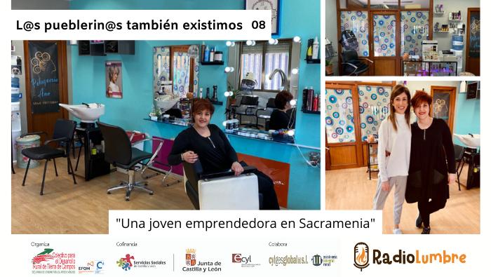 Una joven empresaria en Sacramenia