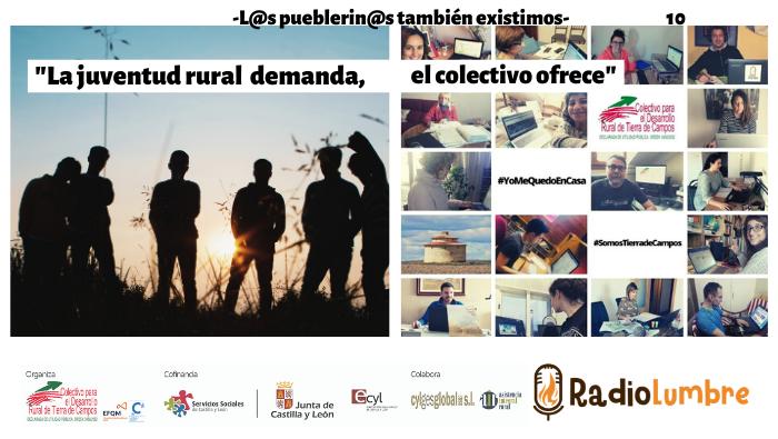 """""""La juventud rural demanda, el Colectivo ofrece"""""""