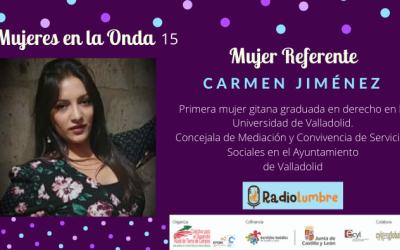 Mujeres Referentes II: Carmen Jiménez Borja, primera mujer gitana graduada en Derecho en Valladolid.