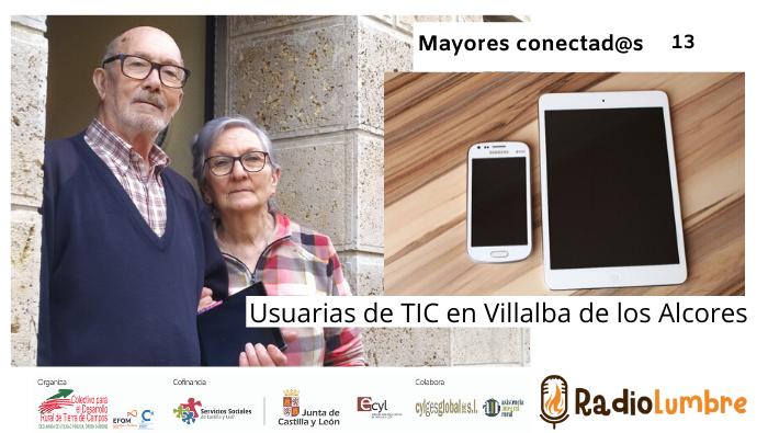 """""""Usuarias de TIC en Villalba de los Alcores"""""""