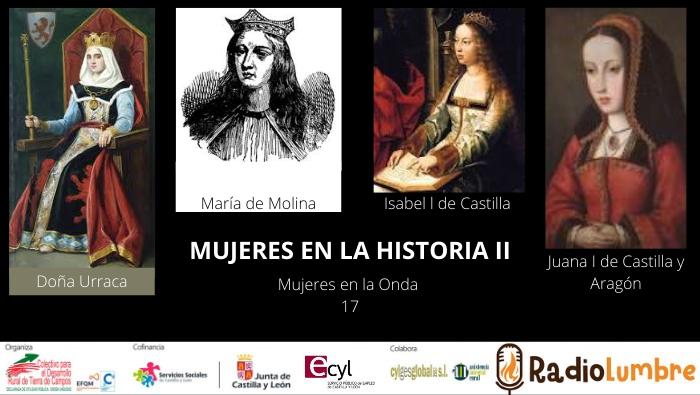 Mujeres en la Historia II: REINAS