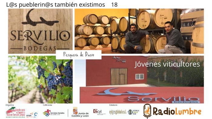 Jóvenes viticultores en Pesquera de Duero