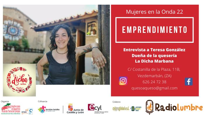 Emprendedoras. Teresa González