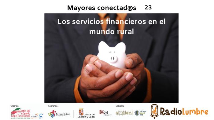 Los servicios financieros en el medio rural