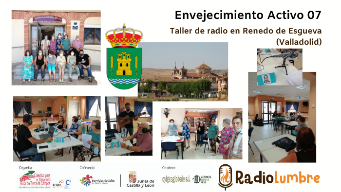 Radio Renedo: Taller de radio en Renedo de Esgueva.