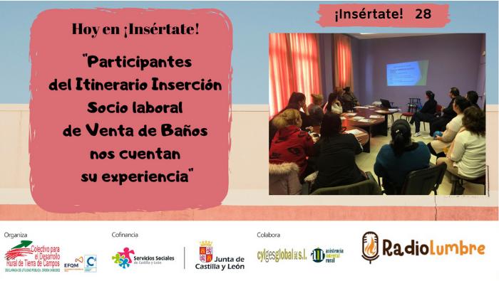 Entrevistas a participantes del Itinerario de Venta de Baños.
