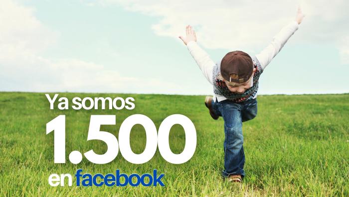 Somos 1.500 en Facebook!