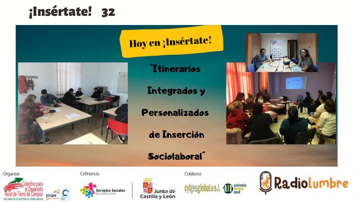 Itinerarios Integrado y Personalizado de Inserción Sociolaboral de personas perceptoras de la Renta Garantizada de Ciudadanía