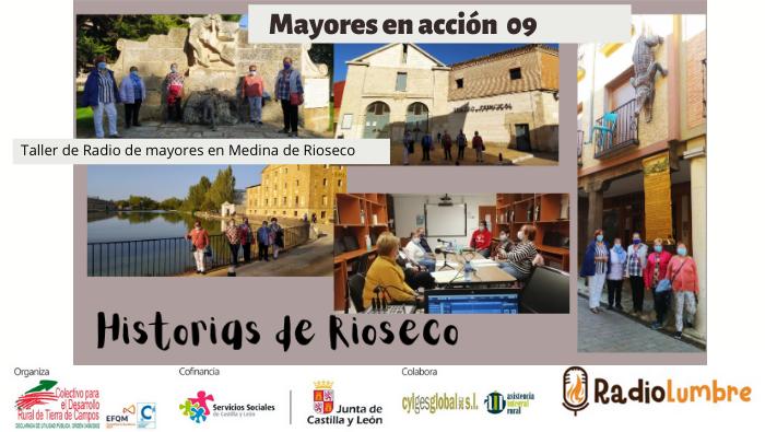 """Taller de Radio de mayores en Medina de Rioseco """"Lo que no te cuenta internet sobre Rioseco"""""""