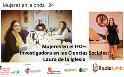 MUJERES EN EL I+D+i, Investigadora en Ciencias Sociales. Laura de la Iglesia.