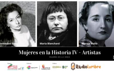 Las mujeres en la historia. Artistas