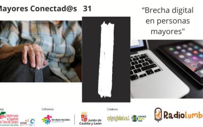 """""""Brecha digital en personas mayores""""."""