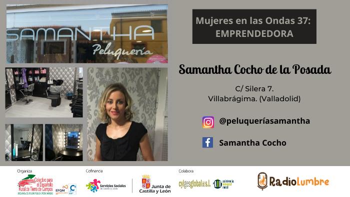 Emprendedoras: Samantha, peluquera en Villabrágima