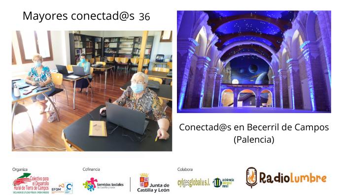 Mayores conectad@s en Becerril de Campos