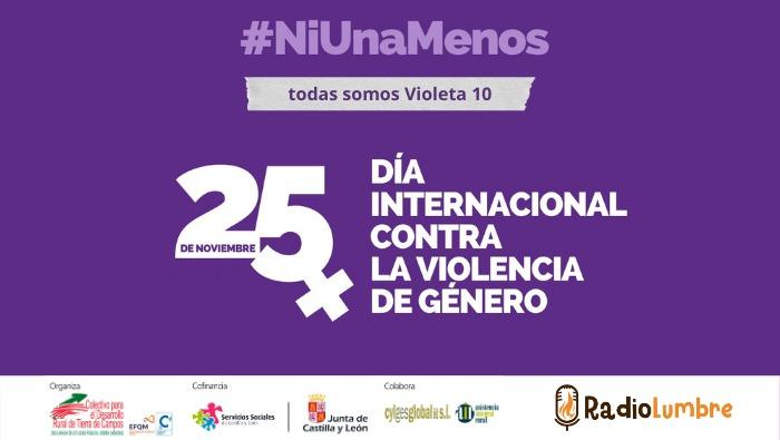 25N Día Internacional de la Eliminación de la Violencia Contra las Mujeres.