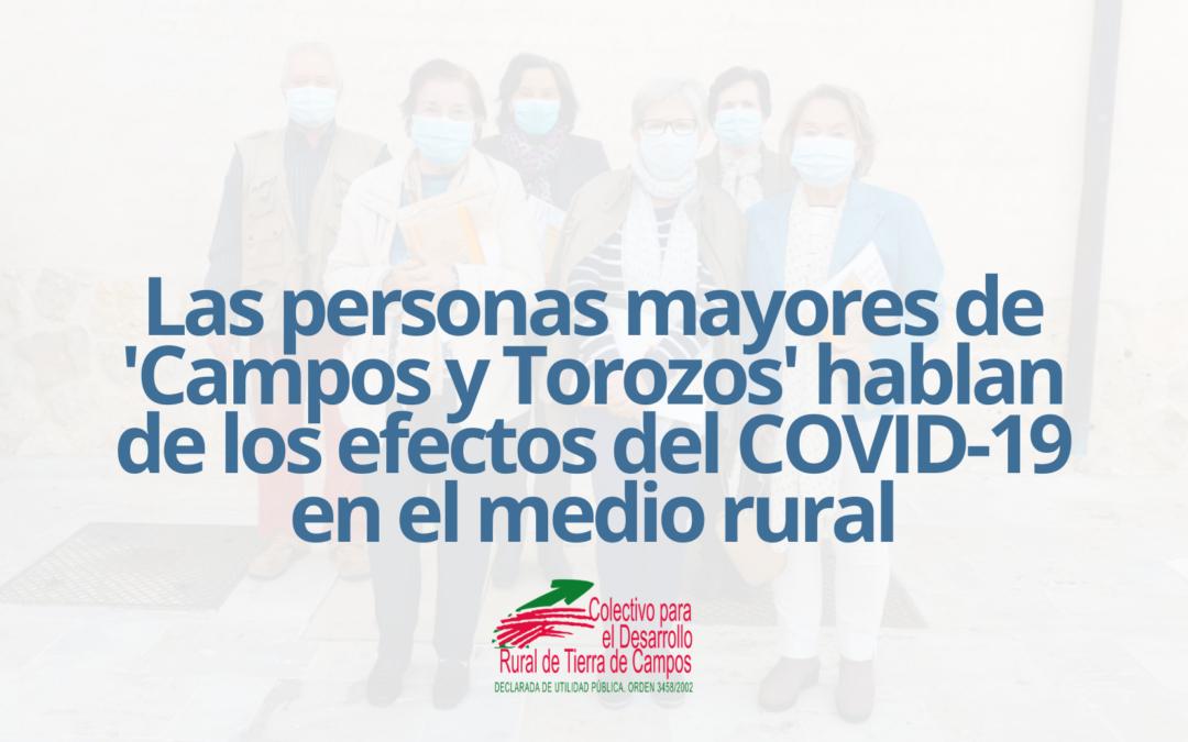 El Colectivo Tierra de Campos identificará las necesidades de las personas mayores durante la pandemia