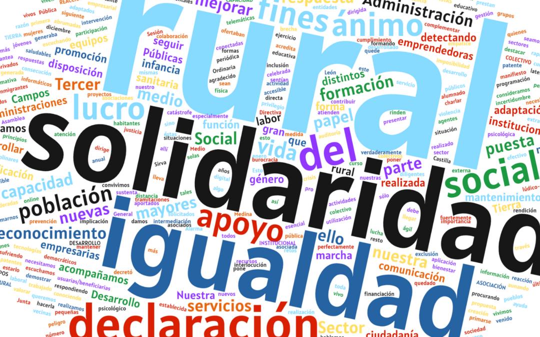Declaración institucional 'Por un reconocimiento de la Administración Pública a la función que cumplen las Asociaciones sin ánimo de lucro con fines sociales'
