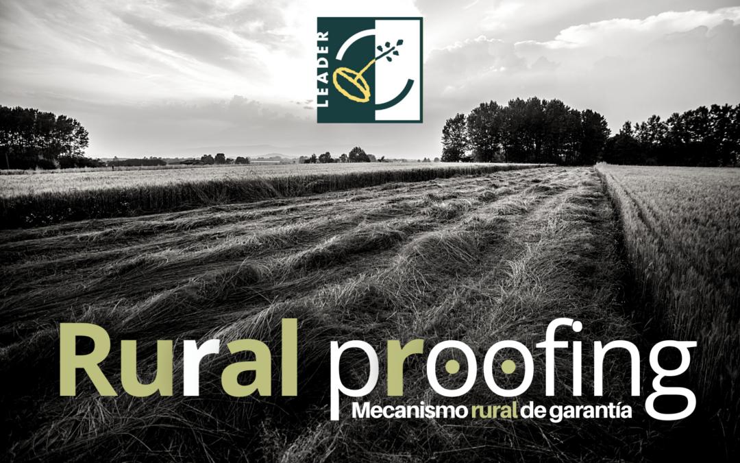 'Rural proofing' o Mecanismo rural de garantía