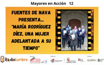 """Fuentes de Nava presenta: """"María Rodríguez Díez, una mujer adelantada a su tiempo"""""""