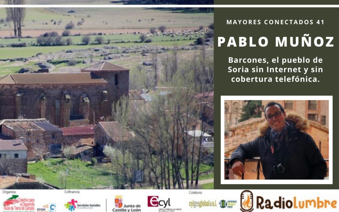 Entrevista a Pablo Muñoz, Alcalde de Barcones (Soria)