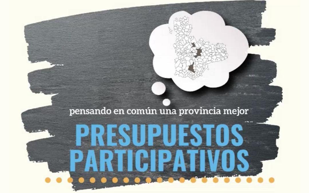 Comienzan los presupuestos participativos para la provincia de Valladolid