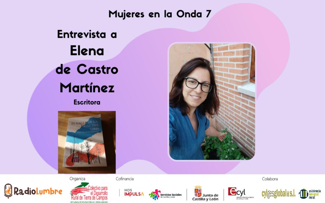 Entrevista a Elena de Castro. Escritora