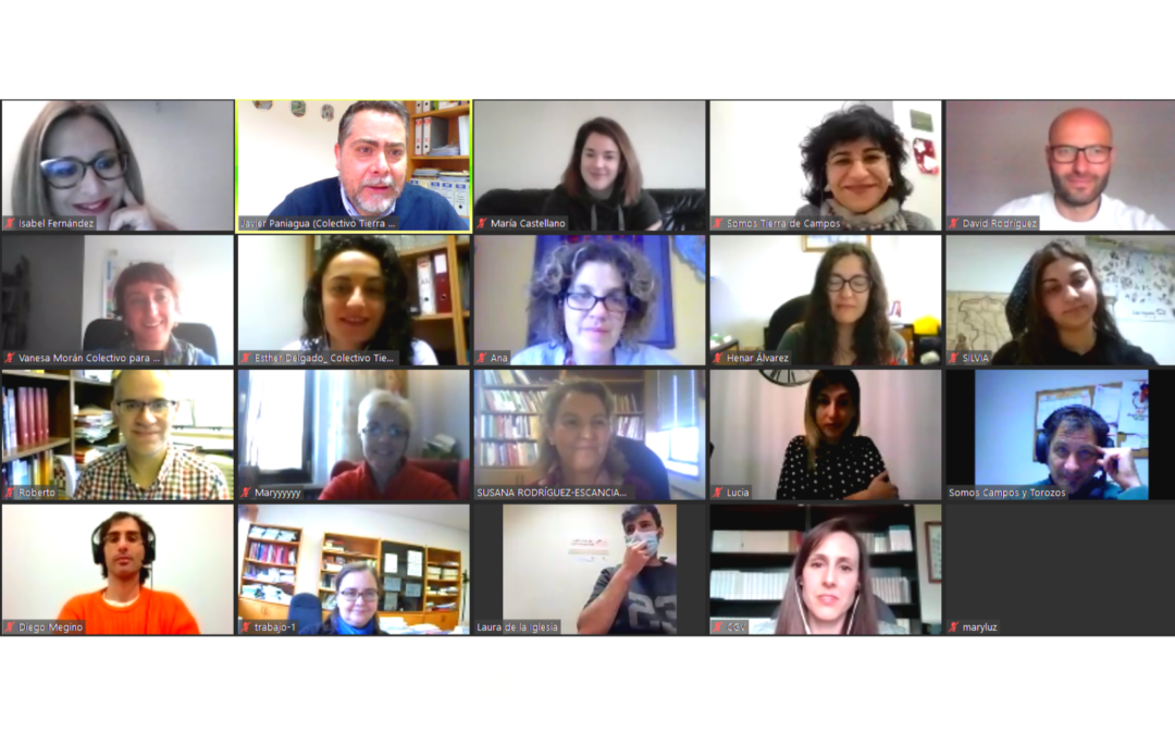 El Área de Derecho del Trabajo y de la Seguridad Social de la Universidad de León y el Colectivo Tierra de Campos reflexionan sobre los servicios de cuidados en el medio rural