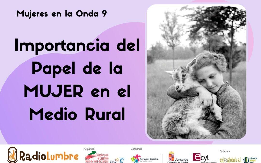 El papel de las mujeres en el medio rural
