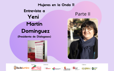 Entrevista a Yeni Martín Domínguez. Presidenta de Dialogasex