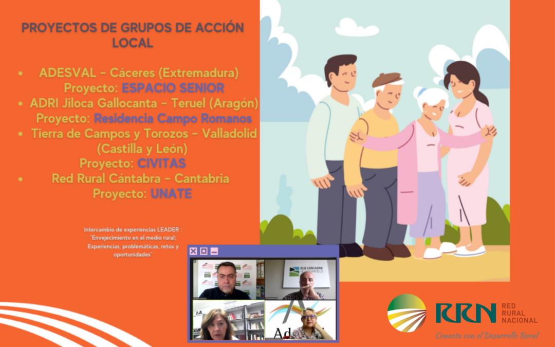 Los Grupos de Acción Local apuestan por el envejecimiento activo en las zonas rurales