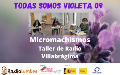 Micromachismos: Taller de Radio en Villabrágima