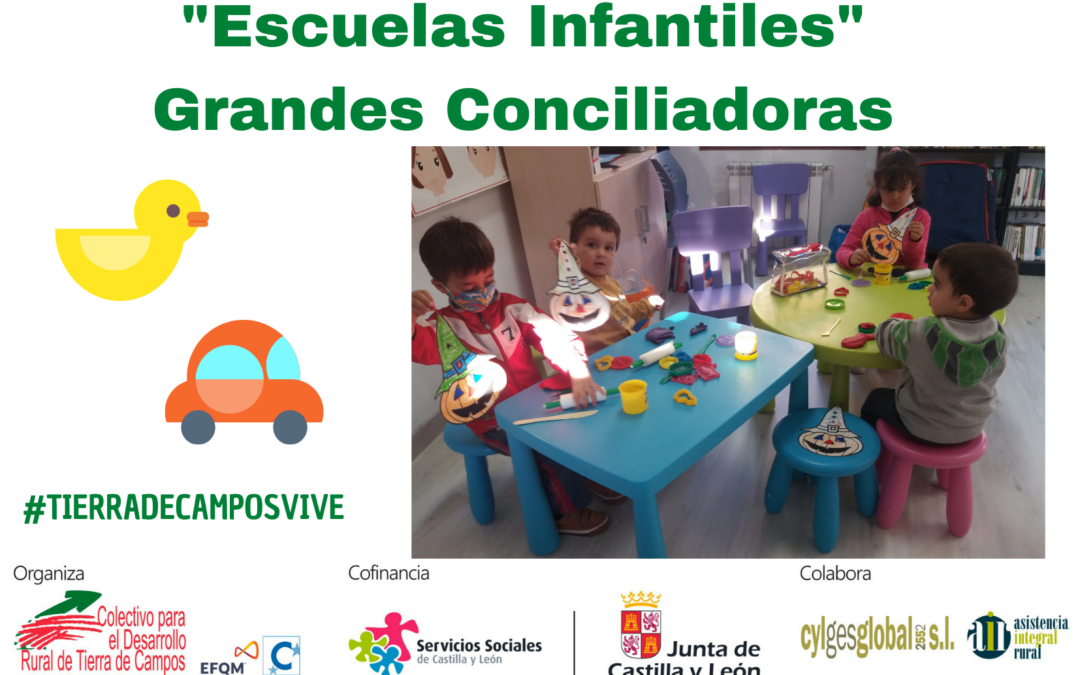 Escuelas infantiles: Grandes conciliadoras