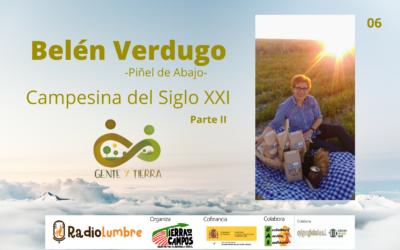 Entrevista a Belén Verdugo II Persona encargada
