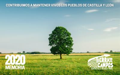 El Colectivo Tierra de Campos atendió en 2020 a más de 4.000 personas en 153 municipios rurales de Castilla y León