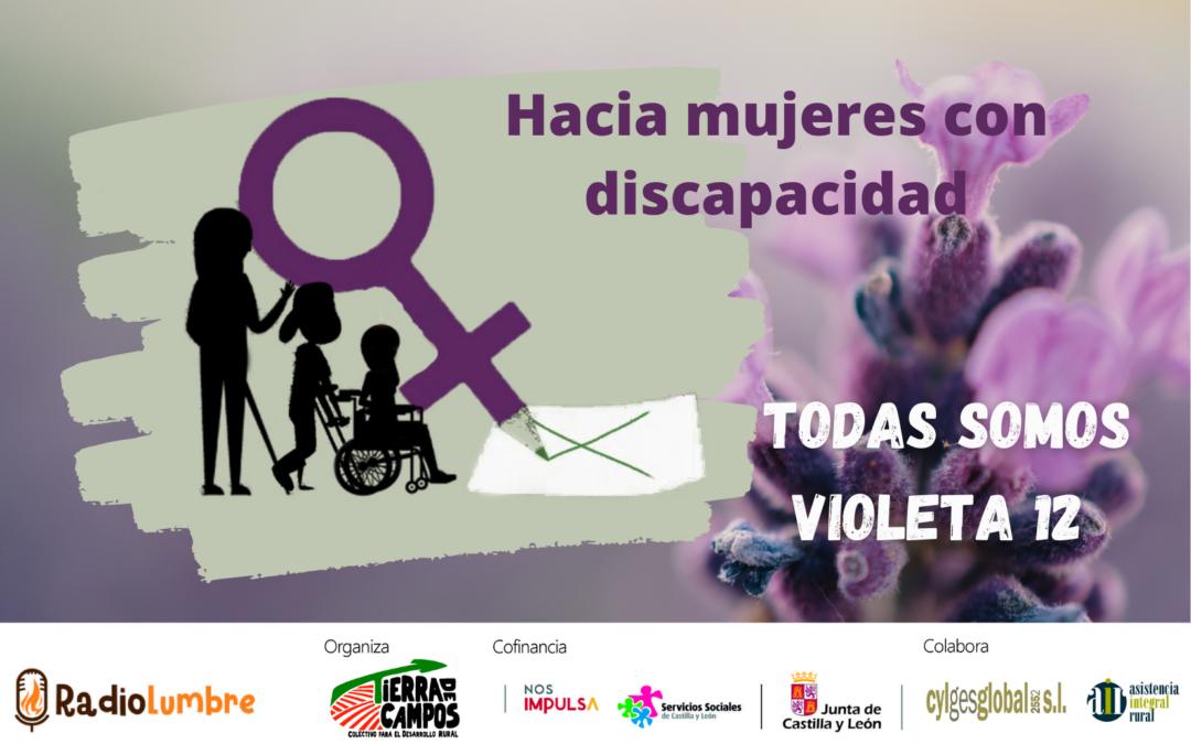 Violencia hacia mujeres con discapacidad