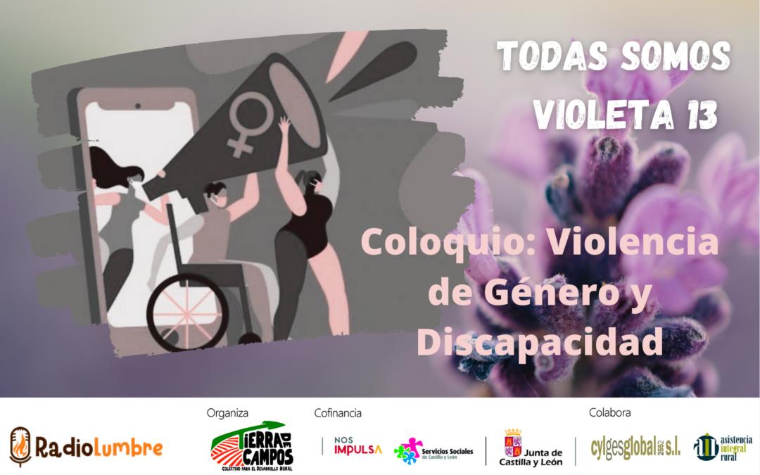 Coloquio: Violencia de género y discapacidad