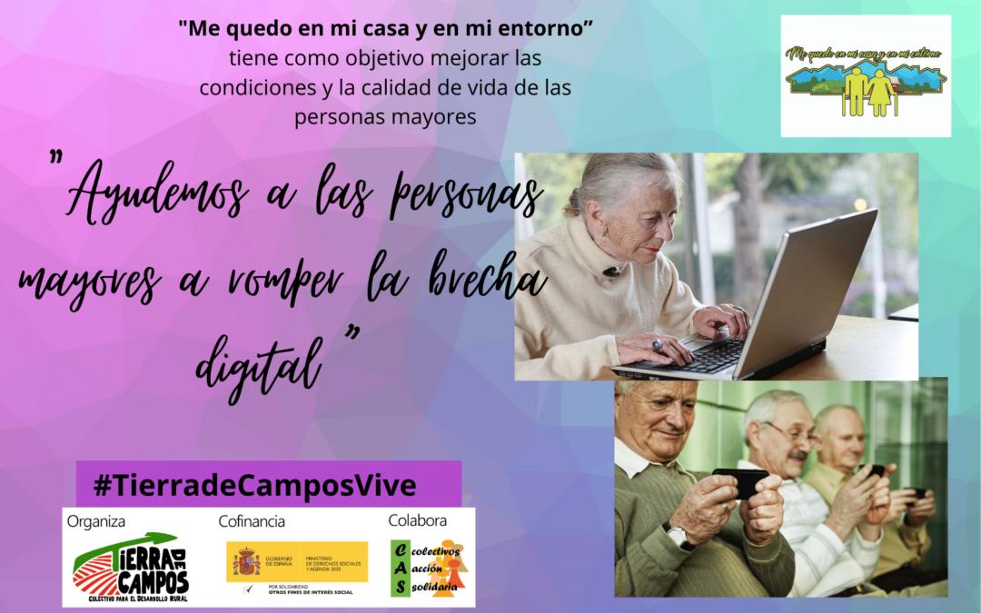 Ayudemos a las personas mayores a romper la brecha digital