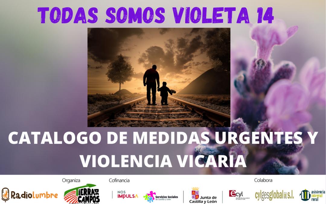 Medidas de urgencia y Violencia Vicaria