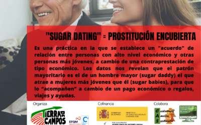"""""""Sugar dating""""= prostitución encubierta"""