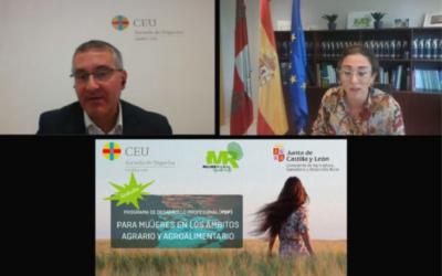 Da comienzo el Programa de Desarrollo Profesional en el que participarán 12 mujeres de Castilla y León en los ámbitos agrario y agroalimentario